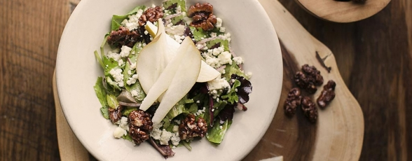 photo of pear salad